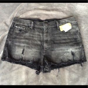 NWT Lucky Brand High Rise Shortie Shorts